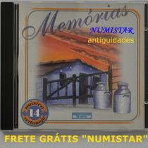 Cd Sertanejo Memória Sertaneja Música Cavalo Baio Piracicaba