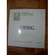 Lp Grandes Compositores Da Musica Universal Grieg (lacrado)