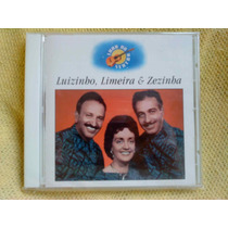 Cd Luizinho Limeira & Zezinha Luar Do Sertão Ed 2000 Lacrado