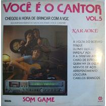Voce É O Cantor Vol.5 Lp Coletanea