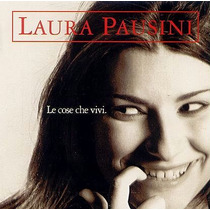 Cd - Laura Pausini - Le Cose Che Vivi- 3 Faixas Em Portugues