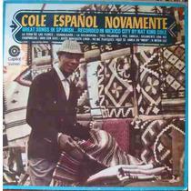 Nat King Cole Lp Cole Español Novamente - Stereo