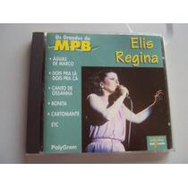 Cd - Elis Regina - Os Grandes Da Mpb - Frete Grátis