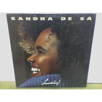 Sandra De Sá - Lp - Vinil - Lucky ! - Rock - Samba -reggae
