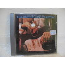 Cd Eric Clapton - Time Pieces/ The Best Of / Otimo Est.