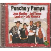 Cd - Gaúcho - Novo - Poncho Y Pampa