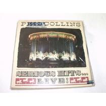 Lp Phil Collins - Serious Hits Live - 1990 - Duplo