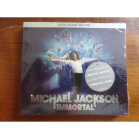 Cd Duplo Michael Jackson Immortal De Luxe Edition Lacrado