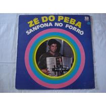 Ze Do Peba-lp-vinil-sanfona No Forró-mpb-sertanejo-zé