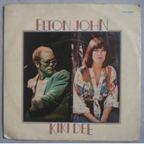 Elton John E Kiki Dee - Snow Queen - Compacto Vinil