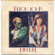 Disco Compacto Vinil Lp Antigo Elton John - Kiki Dee - 1976