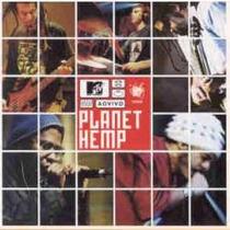 Cd Planet Hemp - Ao Vivo Mtv
