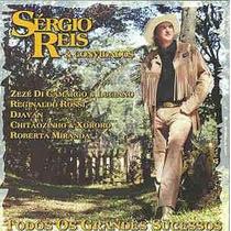 Sergio Reis & Convidados - Cd Todos Os Grandes Sucessos