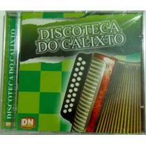 Cd Luizinho Calixto - Discoteca Do Calixto Vol. 01 - Lacrado