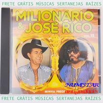 Cd Sertanejo Milionário E José Rico Minha Prece Meu Caminho