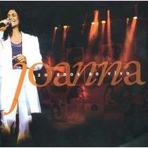 Cd - Joanna - Ao Vivo 2 Cd