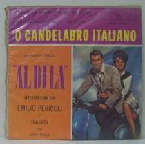 Compacto Vinil O Candelabro Italiano - Emilio Pericoli - Wb