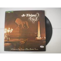 Lp Je Taime Música Francesa