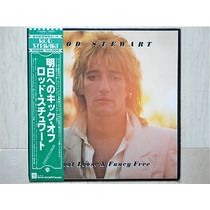 Rod Stewart Foot Loose Fancy Free Japão Obi Encarte Exc Est