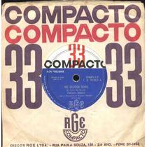 Teddy Reno Compacto De Vinil The Exodus Song-mono-1962