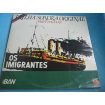 Lp Os Imigrantes Band Italiana Carlo Buti Mario Del Monaco