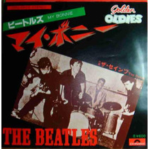 Beatles Compacto Vinil My Bonnie Import Japão 45 Rpm Stereo