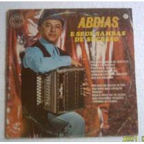 Lp Abdias E Seus Sambas De Sucessos1971 Cbs
