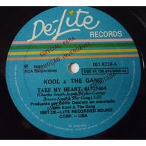 Kool & The Gang - Take My Heart (compacto Nac.) Único No Ml!