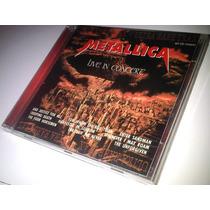 Cd Metallica - Live In Concert Black Album Tour 1991