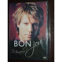 Bon Jovi - Miracle - Dvd Original Novo Lacrado Raro Confira