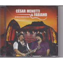 Cesar Menotti E Fabiano - Ao Vivo No Morro Da Urca - Cd