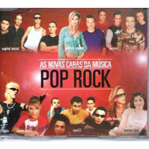 Cd As Novas Caras Da Música - Pop Rock