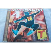 Cd Adrenalina Volume 4 Rede Transamerica Paradoxx Music