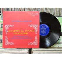 Jeanette Mac Donald & Nelson Eddy Canções Famosas - Lp Rca