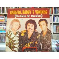 Vinil / Lp - Carlito, Baduy E Voninho - 1977 - Maria José