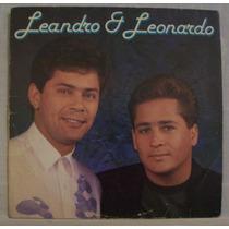 Lp Leandro E Leonardo - Sonho Por Sonho - Chantecler - 1991