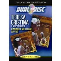 Dvd E Cd Teresa Cristina E Grupo Semente - Ao Vivo - Novo***