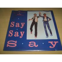 Disco De Vinil Compacto : Paul Mccartney E Michael Jackson