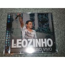 Cd - Mc Leozinho Ao Vivo