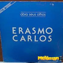 Erasmo Carlos 1986 Abra Seus Olhos Lp Single Mix Promo