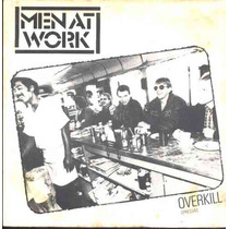 Men At Work Compacto De Vinil Overkill - 1983