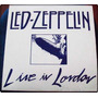 Lp Led Zeppelin Live In London Super Raro!!