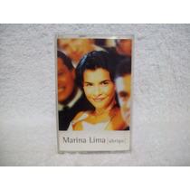 Fita Cassete Original Marina Lima- Abrigo