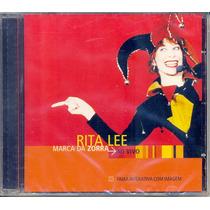 Cd Rita Lee - Marca Da Zorra Ao Vivo - 2002 - Lacrado
