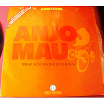 166 Mvd- Lp 1976- Anjo Mau Trilha Sonora- Vinil Inter Novela