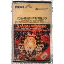 Lote 02 Fitas K7 Sambas De Enredo 89 /90 Do Rio De Janeir0