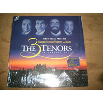 Ld The 3 Tenors In Concert 1994 Completo Como Novo!!!