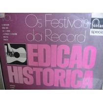 Lp Col Festivais Da Record Vol 1 Edição Histórica