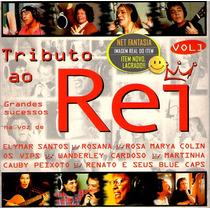 Cd Tributo Ao Rei Roberto Carlos Com Wanderley Cardoso Vol 1