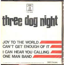 Three Dog Night - Compacto De Vinil Joy To The World 1971